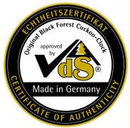 Certificato VDS autenticità